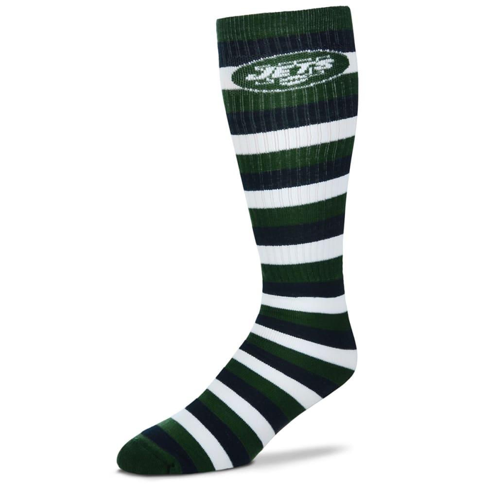 NEW YORK JETS Pro Stripe Knee High Tube Socks - GREEN