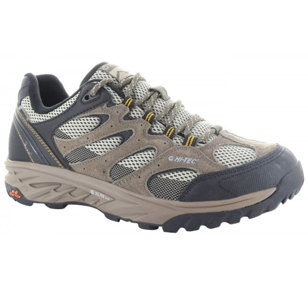 HI-TEC Men's V-Lite Wildfire Low WP Hiking Shoes - TAUPE