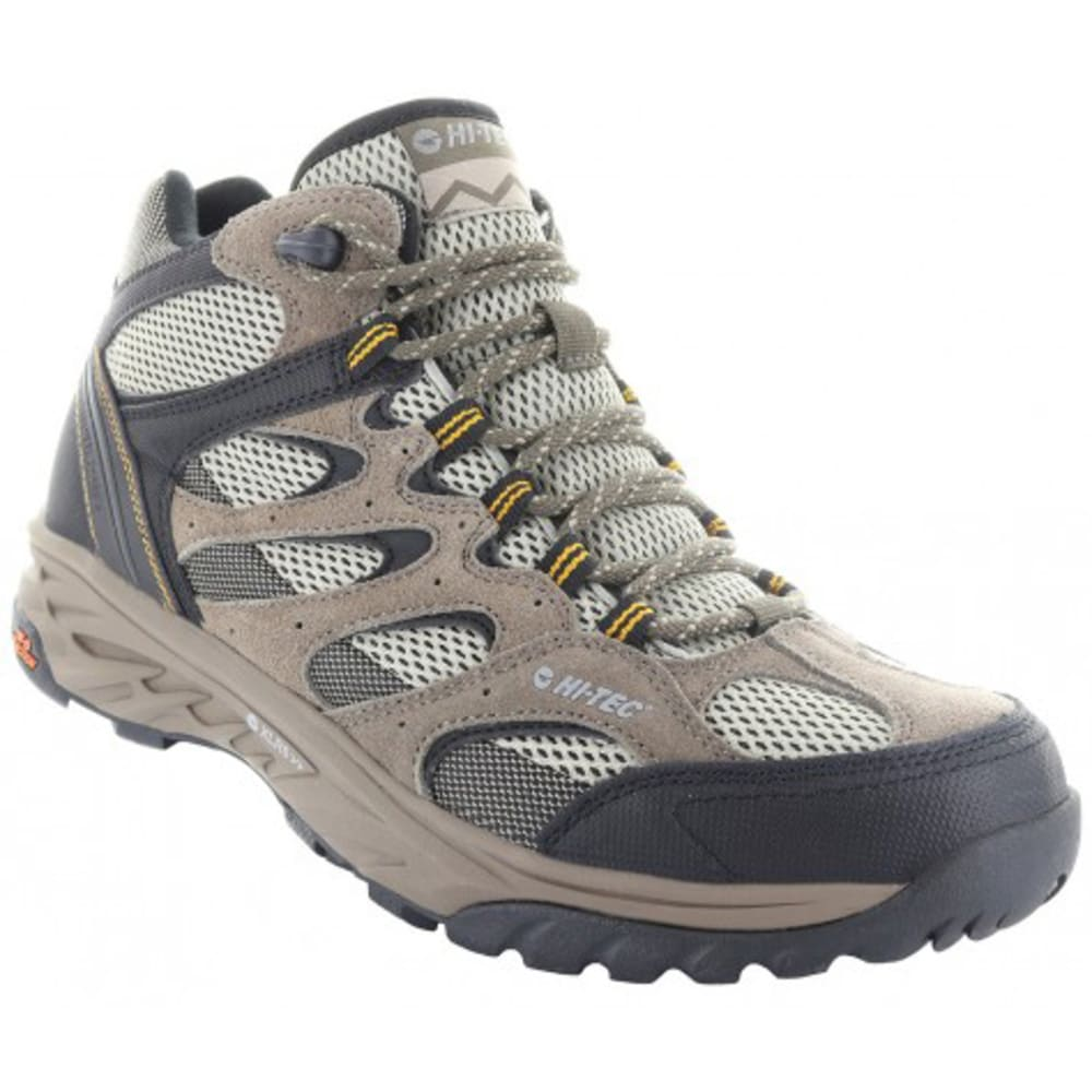 HI-TEC Men's V-Lite Wildfire Mid I Waterproof Hiking Boots - TAUPE
