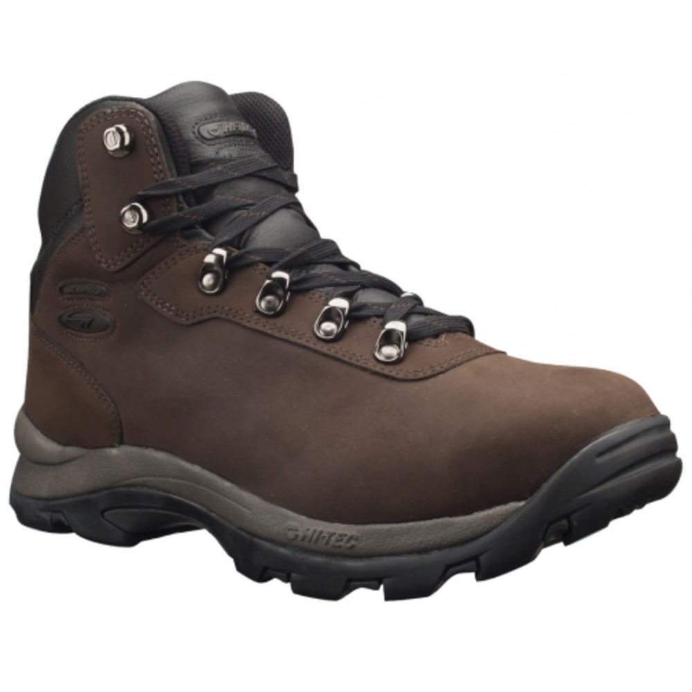 HI-TEC Men's Altitude VI i Waterproof Mid Hiking Boots - DARK CHOCOLATE