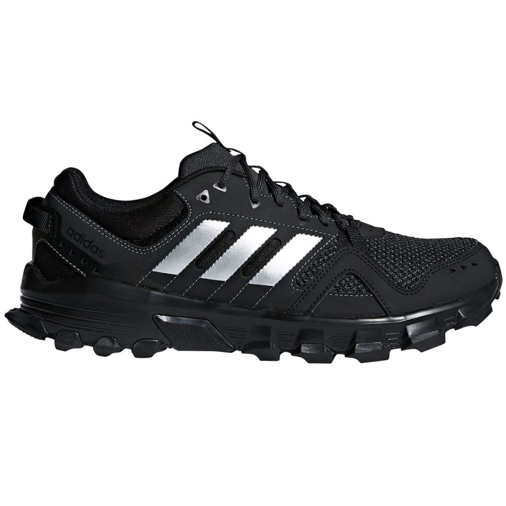 Adidas Men's Rockadia Trail Running Shoes - Black, 8