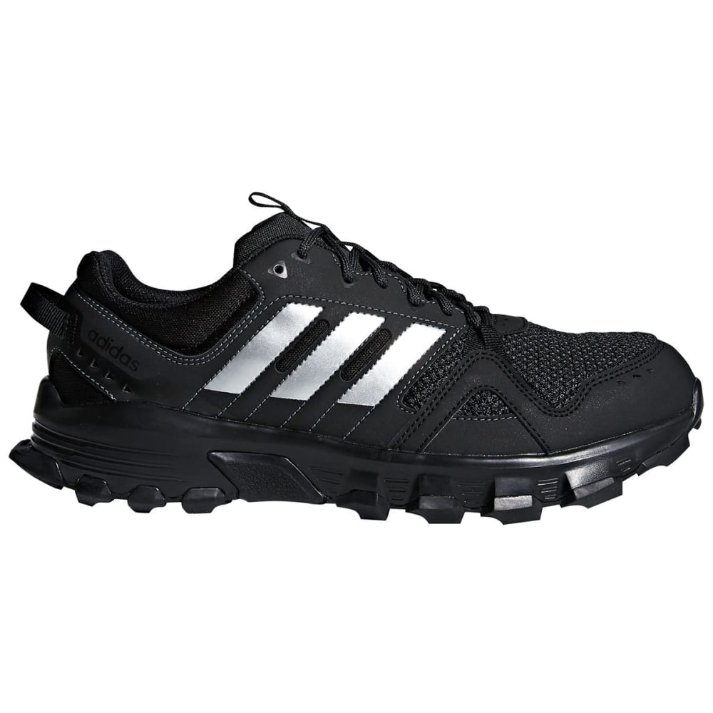 Adidas Men's Rockadia Trail Running Shoes, Wide - Black, 8