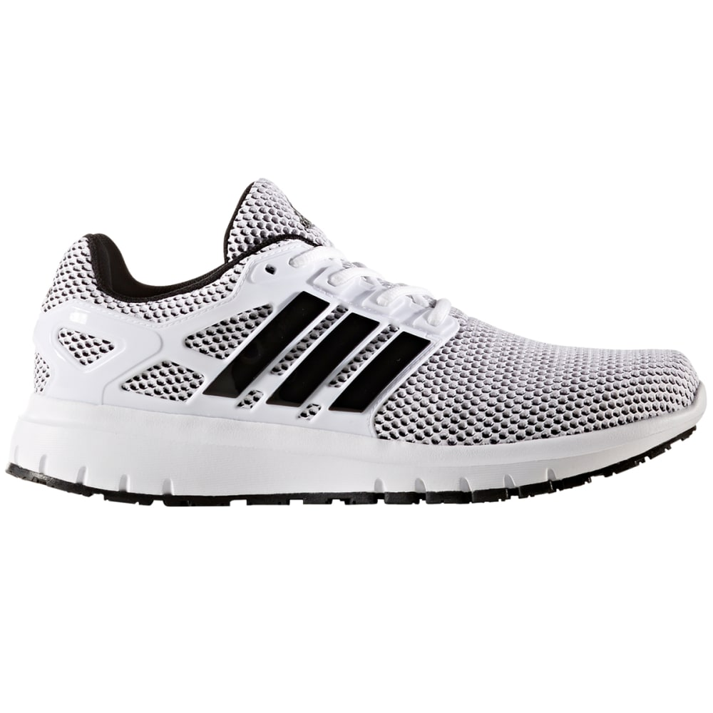 Adidas Men's Energy Cloud Running Shoes - White, 8