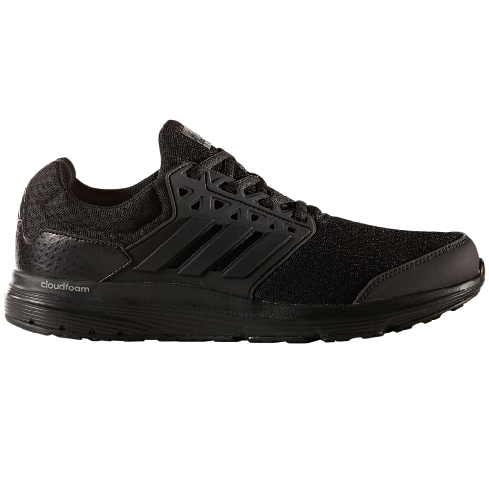 Adidas Men's Galaxy 3 Running Shoes, Wide - Black, 8