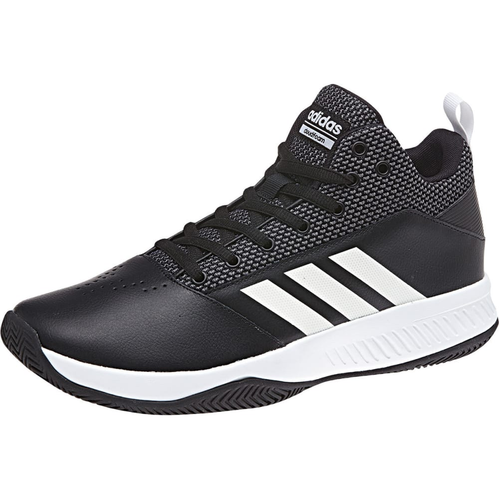 ADIDAS Men's Cloudfoam Ilation 2.0 Basketball Shoes, Wide - BLACK
