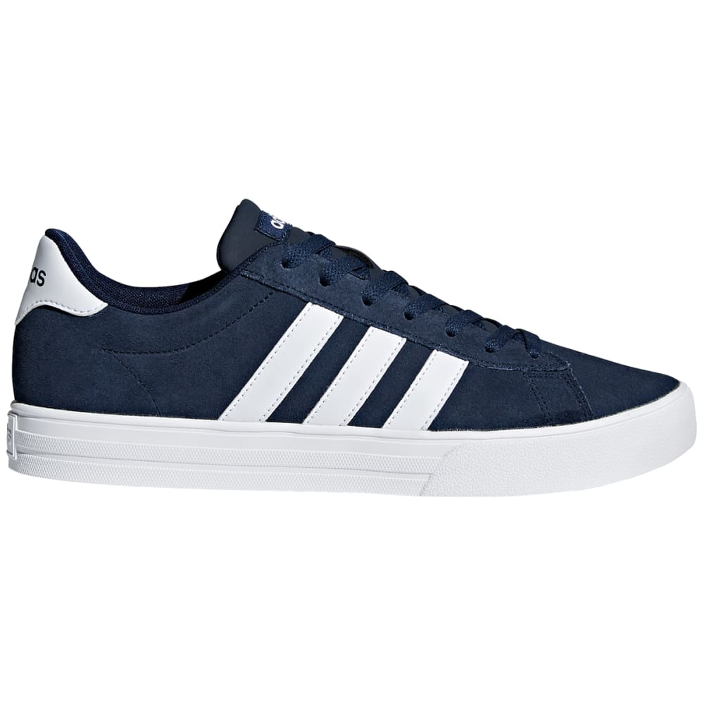Adidas Men's Daily 2.0 Skate Shoes - Blue, 8