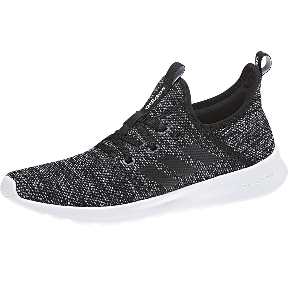 ADIDAS Women's Cloudfoam Pure Running Shoes - BLACK-DB0694