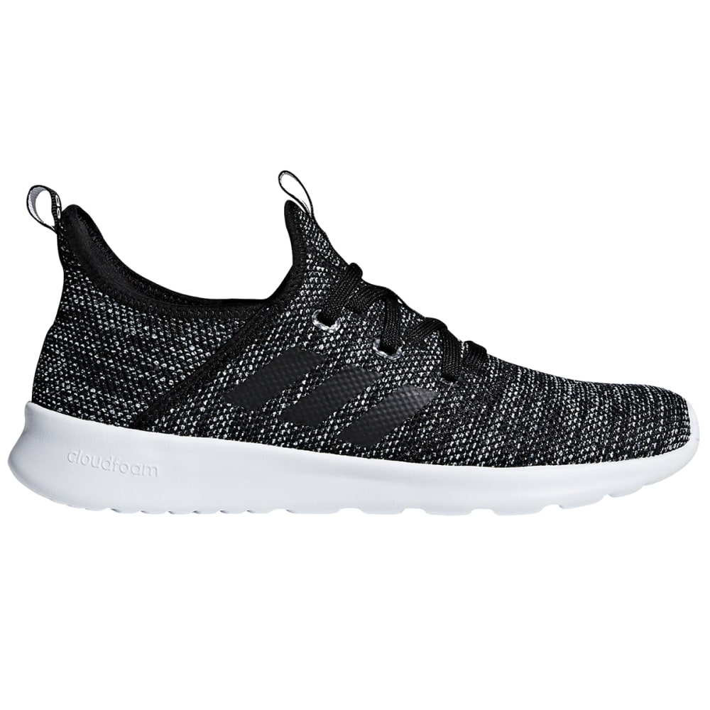 ADIDAS Women's Cloudfoam Pure Running Shoes - BLACK-DB0694