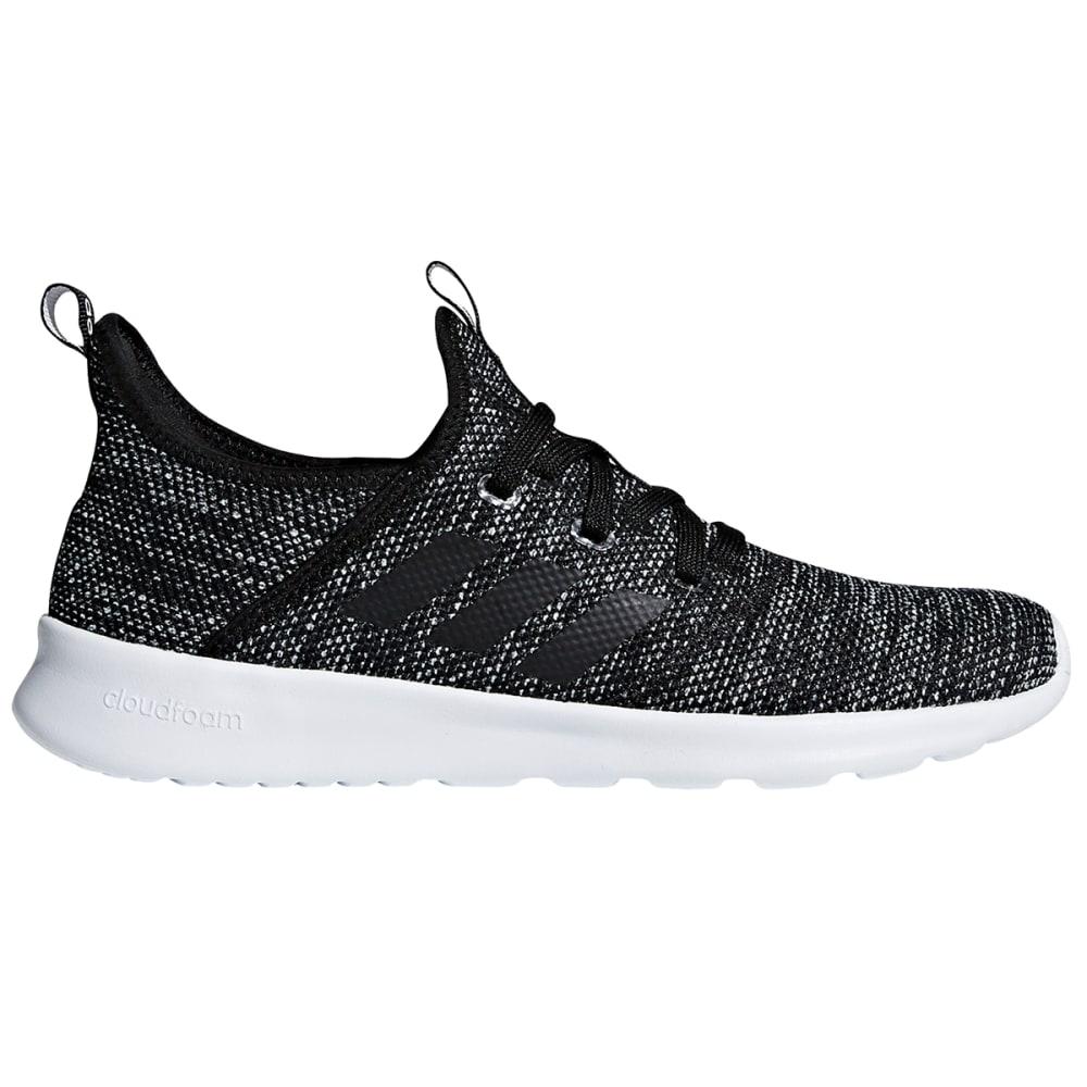 Adidas Women's Cloudfoam Pure Running Shoes - Black, 7
