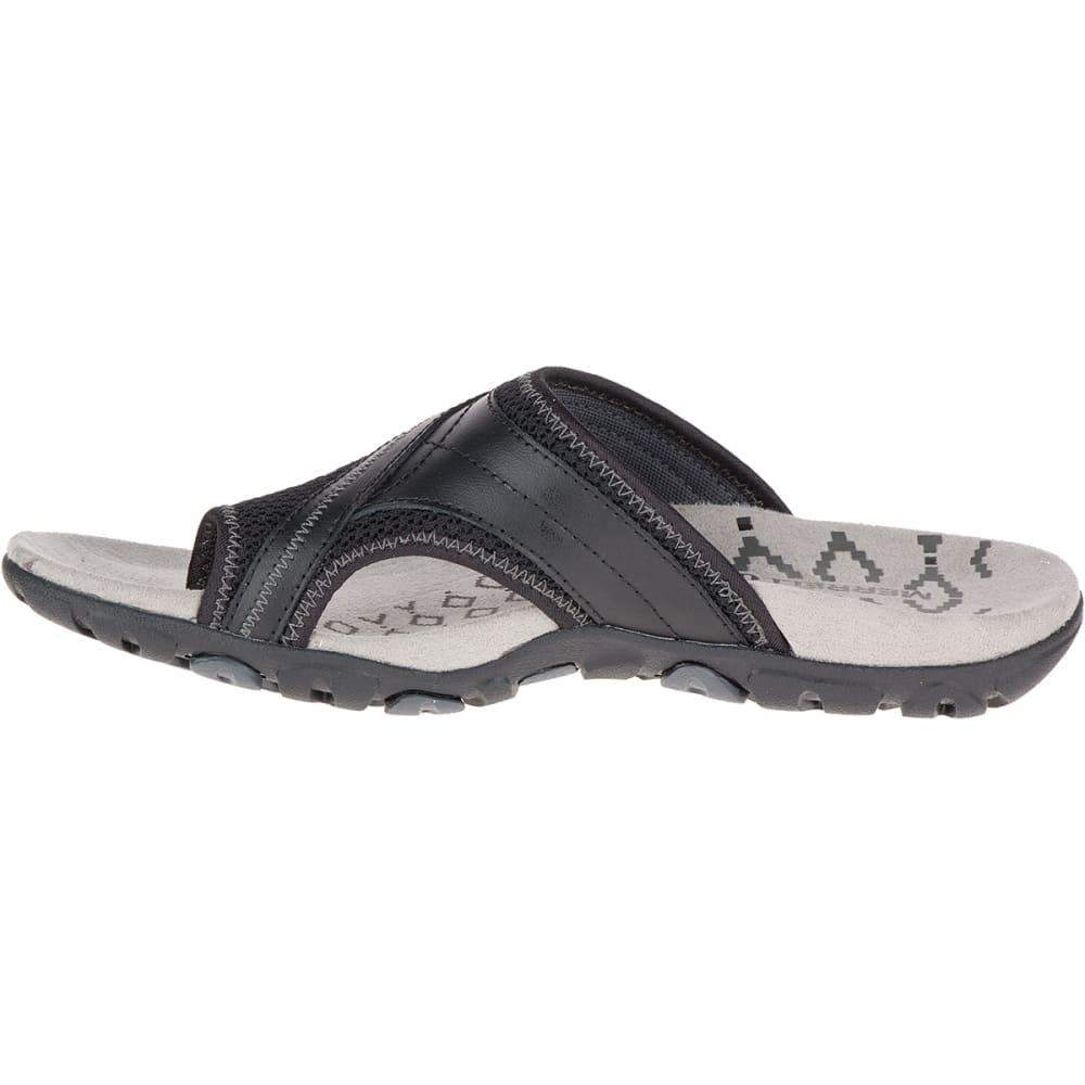 MERRELL Women's Sandspur Delta Flip Sandals - BLACK