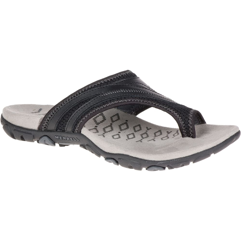 Merrell Women's Sandspur Delta Flip Sandals - Black, 7