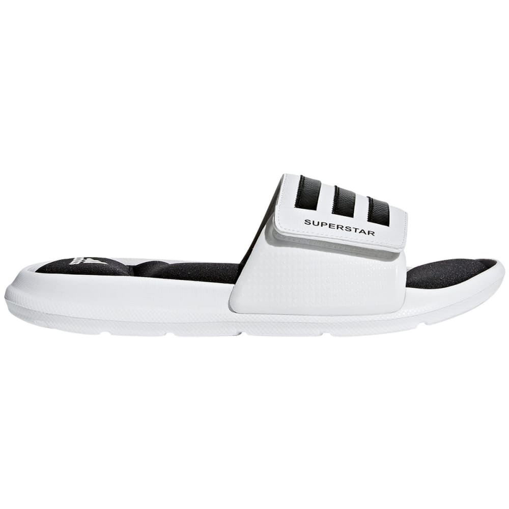 Adidas Men's Superstar 5G Slides - White, 8