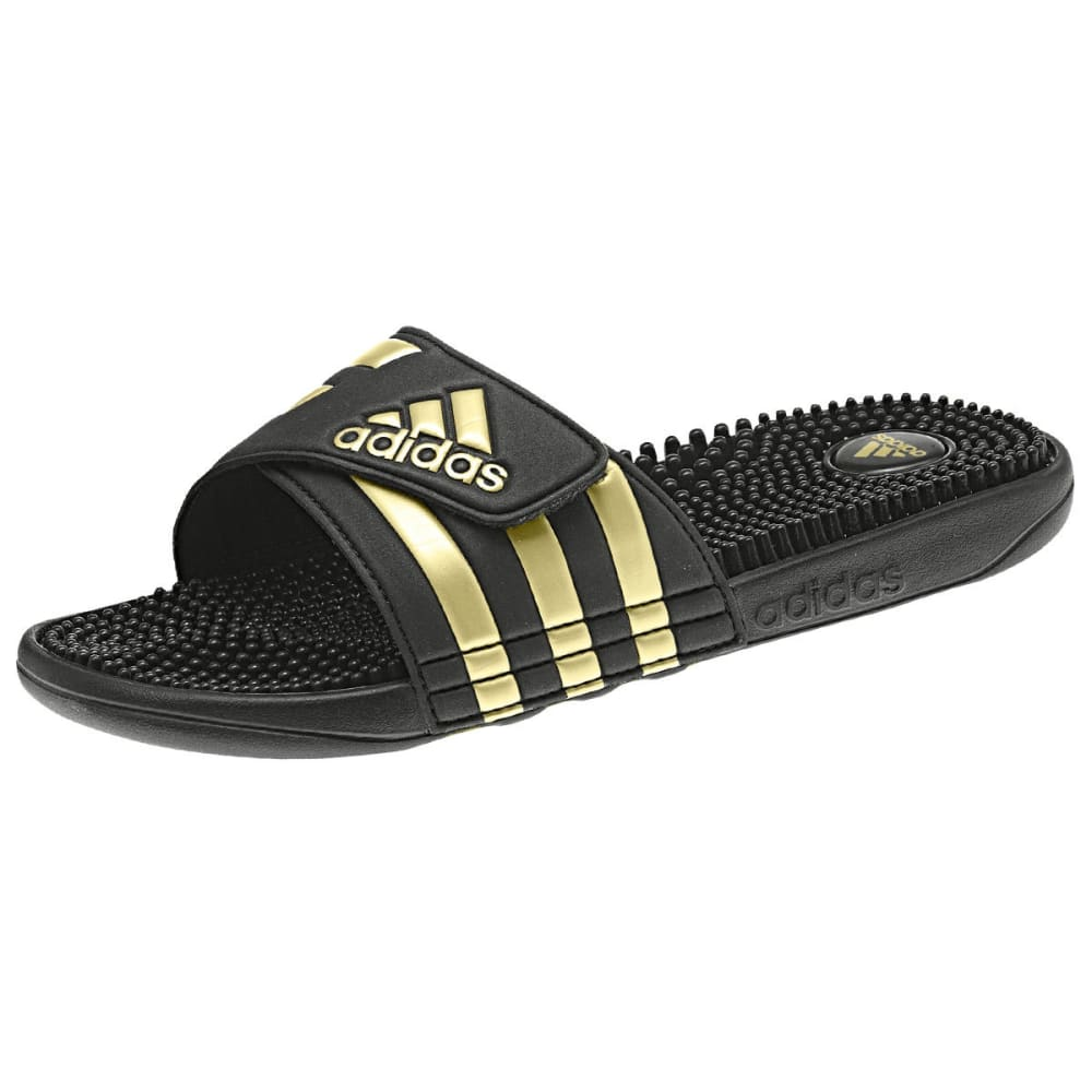 Adidas Men's Adissage Legend Slides - Black, 9