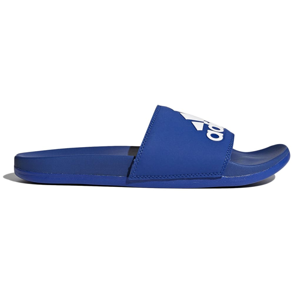 ADIDAS Men's Adilette Cloudfoam Plus Slide Sandals - NAVY
