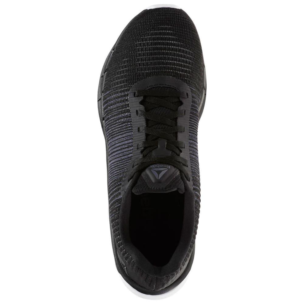 REEBOK Men's Fast Flexweave Running Shoes - BLACK