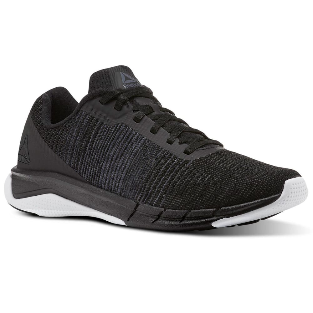 REEBOK Men's Fast Flexweave Running Shoes - BLACK