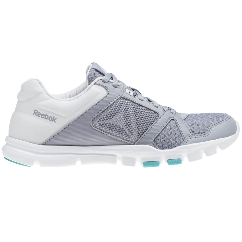 REEBOK Women's Yourflex Trainette 10 MT Cross-Training Shoes - GREY-CN1252