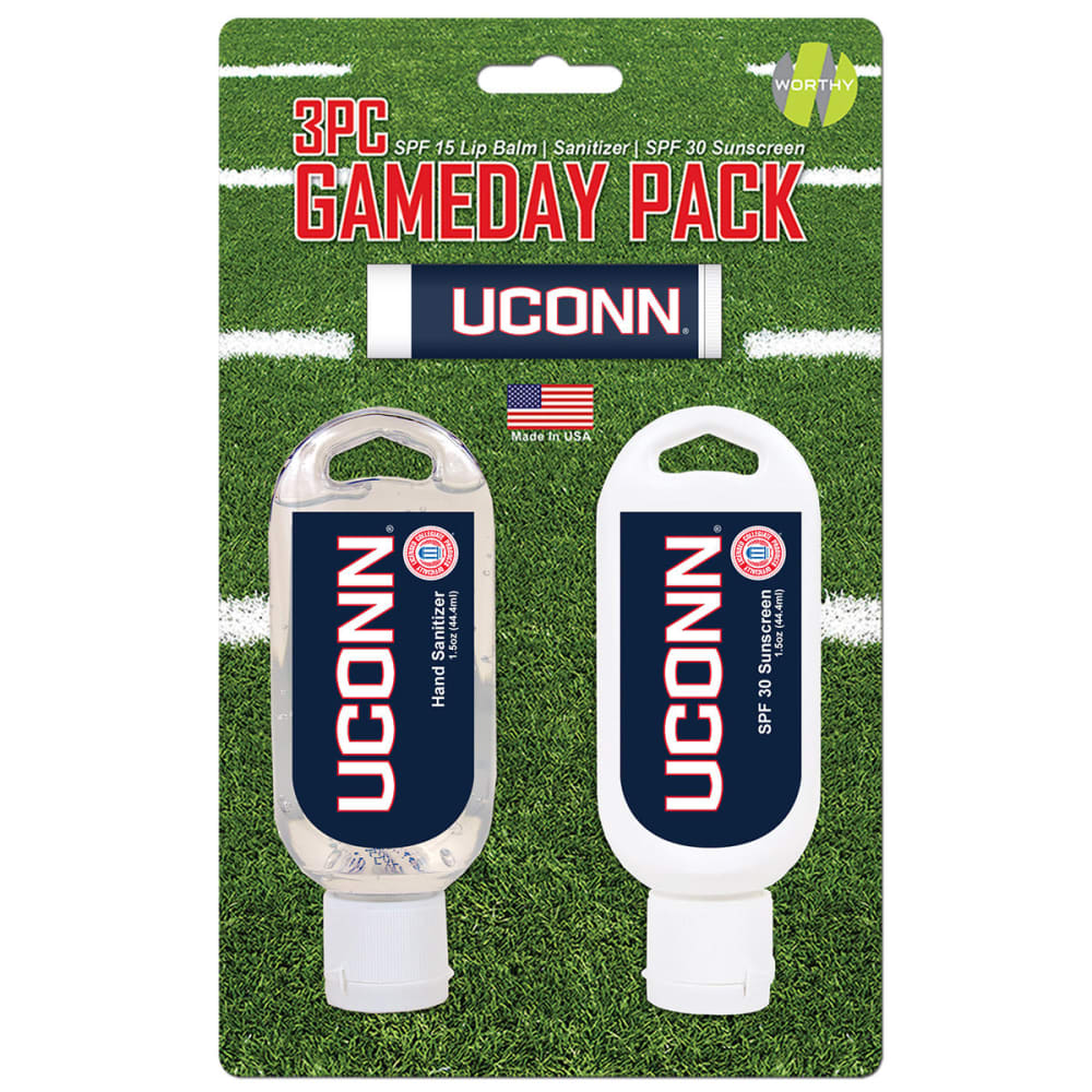 UCONN 3-Piece Game Day Pack - NO COLOR
