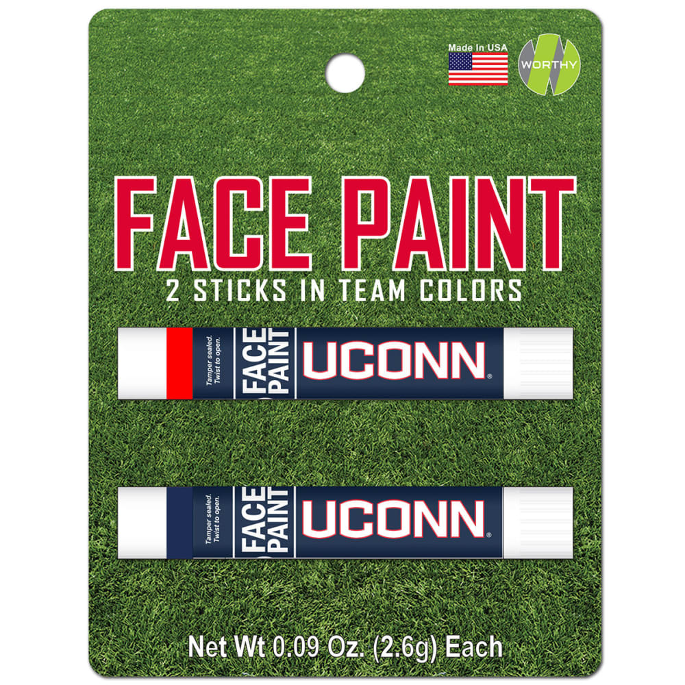 UCONN Face Paint, 2 Pack - NO COLOR