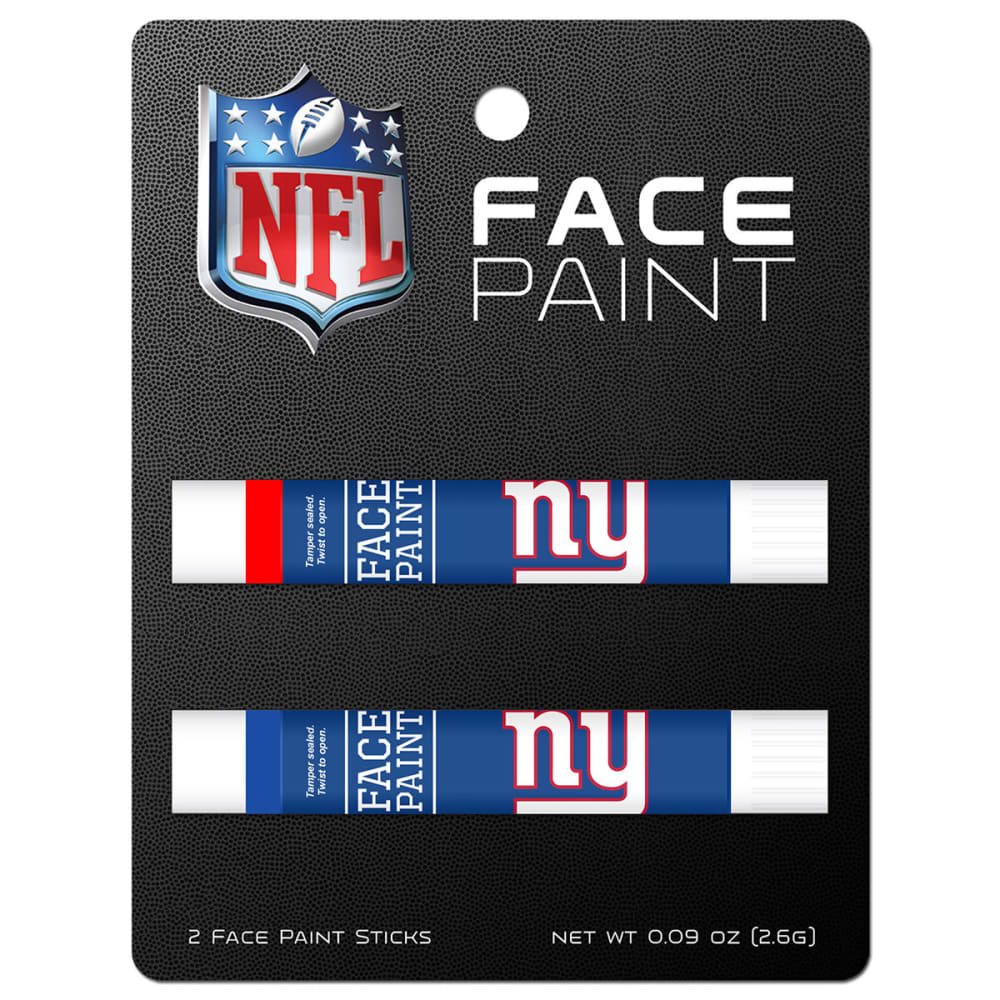 NEW YORK GIANTS Face Paint, 2 Pack - NO COLOR