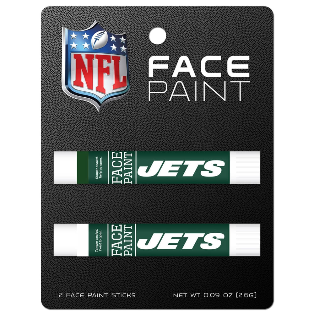 NEW YORK JETS Face Paint, 2 Pack - NO COLOR