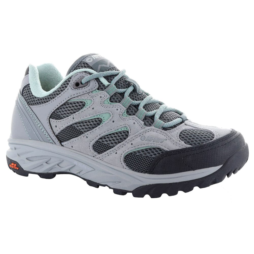 HI-TEC Women's V-Lite Wildfire Low WP Hiking Shoes - COOL GREY/GRAPHITE