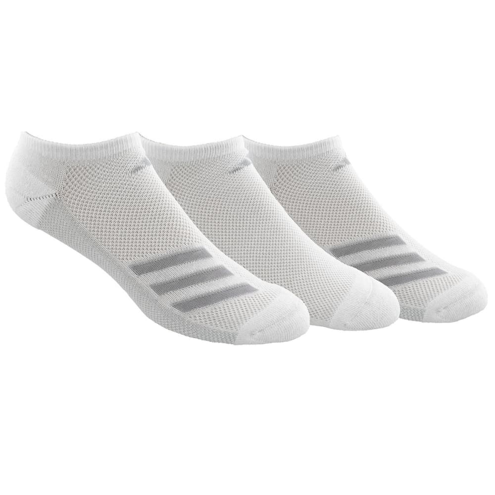 ADIDAS Men's Climacool Superlite Stripe No-Show Socks, 3-Pack - 5144284A-WHITE