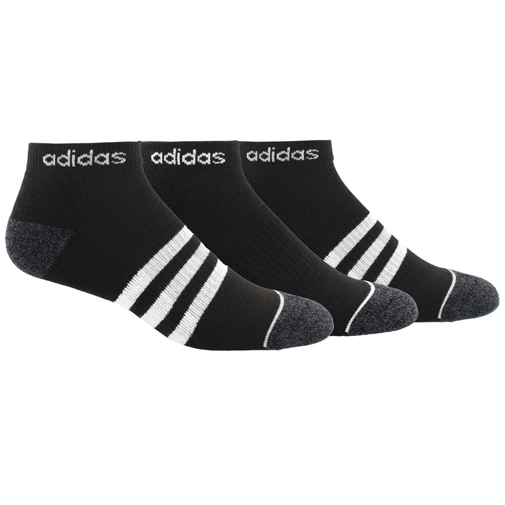 ADIDAS Men's Climacool Superlite Stripe Low-Cut Socks, 3-Pack 10-13