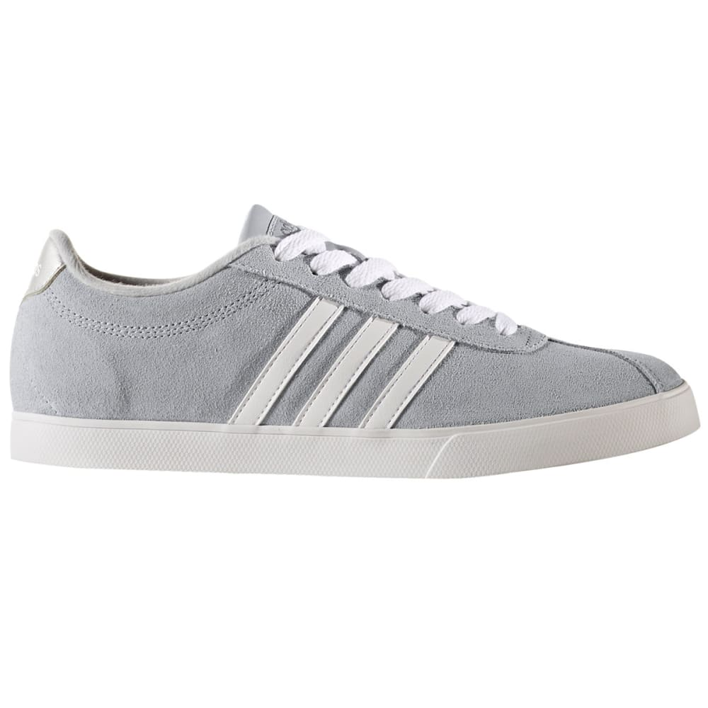 Adidas Women's Neo Courtset Sneakers, Clear Onix/running White/metallic Silver