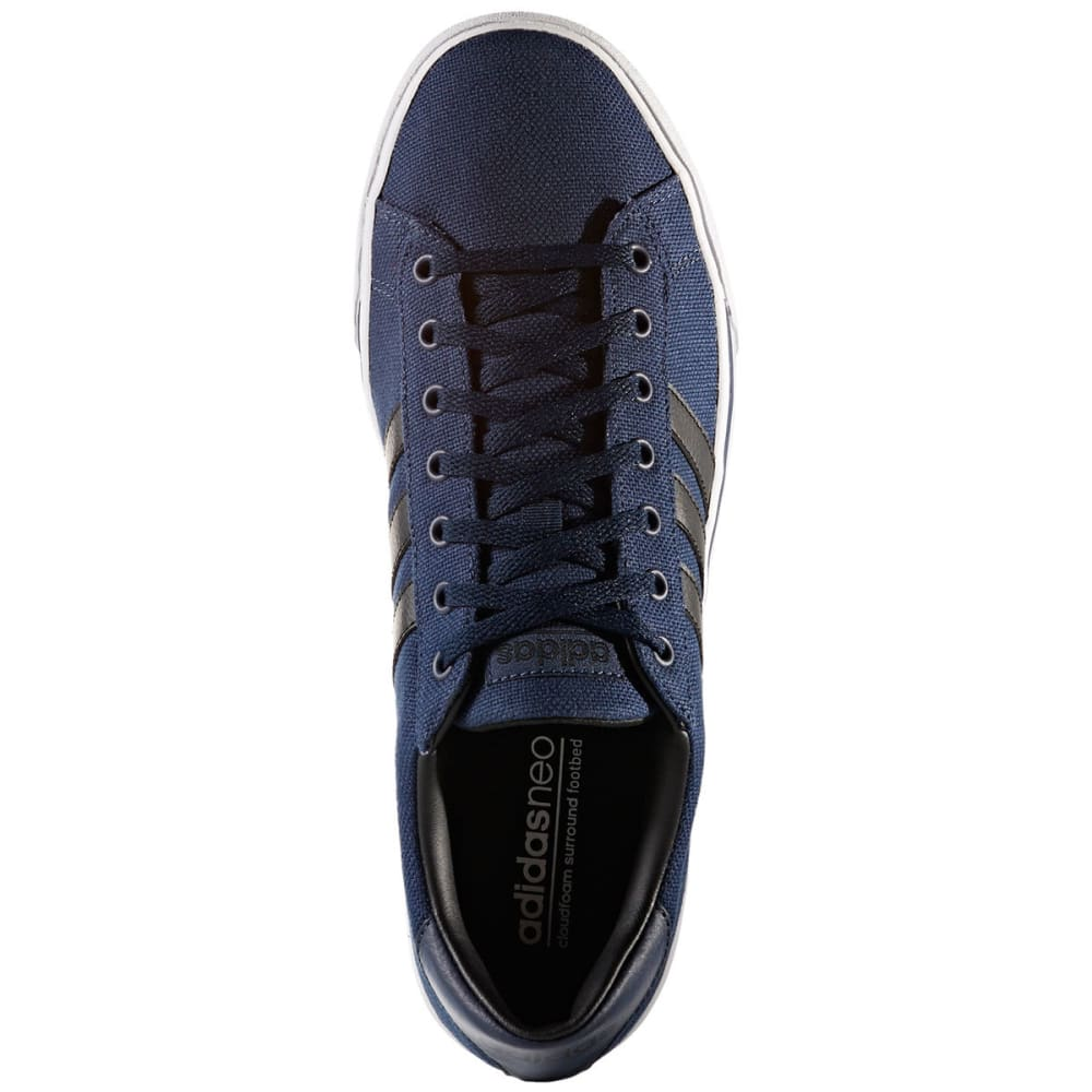 ADIDAS Men's Cloudfoam Super Daily Skate Shoes, Collegiate Navy/Black/Running White - NAVY