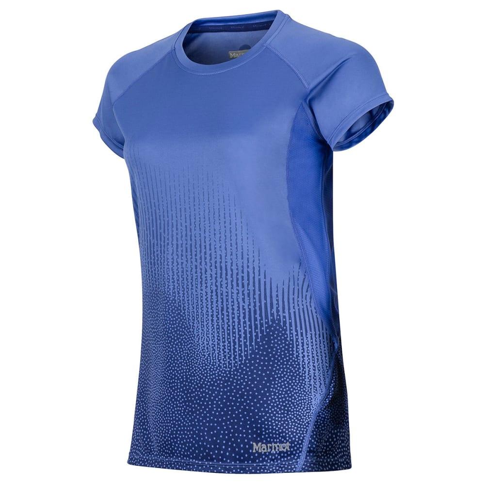 MARMOT Women's Crystal Short-Sleeve Shirt - 8842-LILAC FOUNTAIN