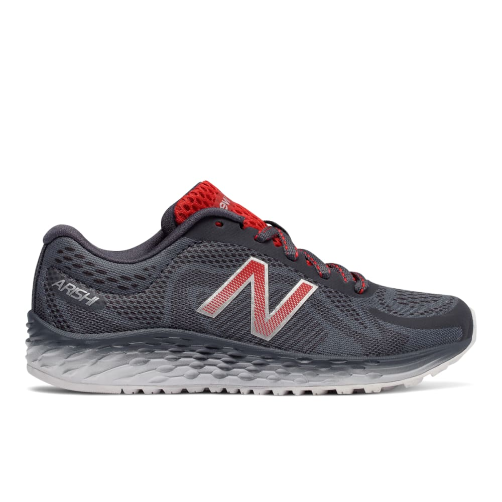NEW BALANCE Big Boys' Grade School Fresh Foam Arishi Running Shoes, Wide - GREY