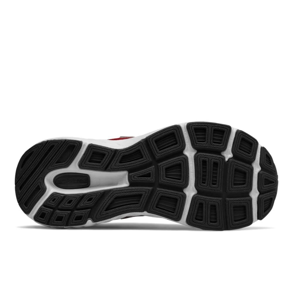 NEW BALANCE Big Boys' Grade School 680v5 Running Shoes, Wide - RED