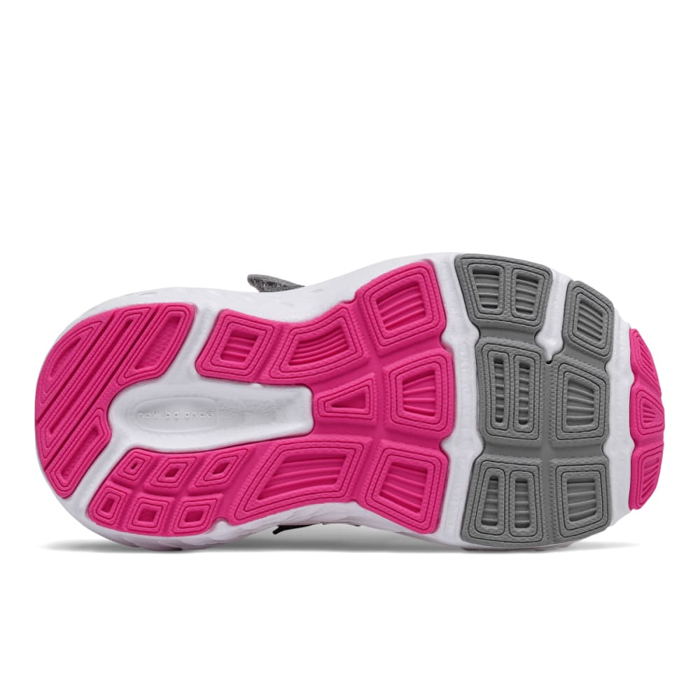NEW BALANCE Toddler Girls' Hook-and-Loop 680v5 Alternate Closure Sneakers - PINK