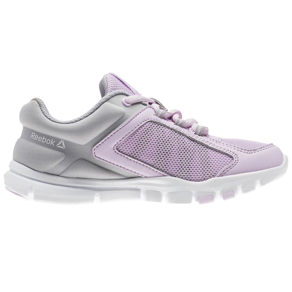 REEBOK Big Girls' YourFlex Train 9.0 Sneakers - MOONGLOW