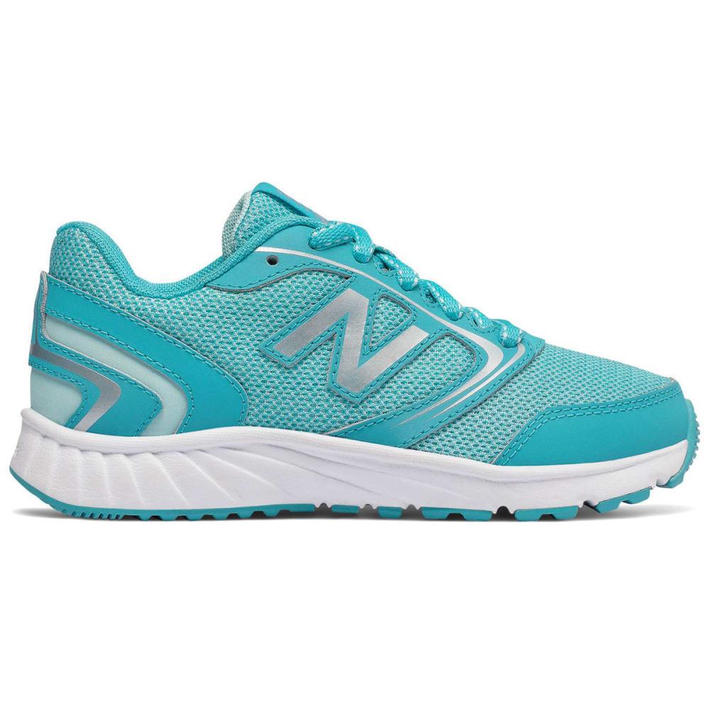 NEW BALANCE Big Girls' 455v1 Running Shoes - BLUE