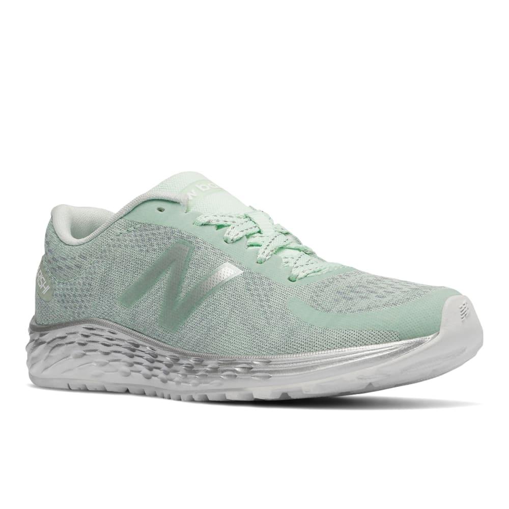 New Balance Big Girls' Grade School Fresh Foam Arishi Running Shoes - Green, 6