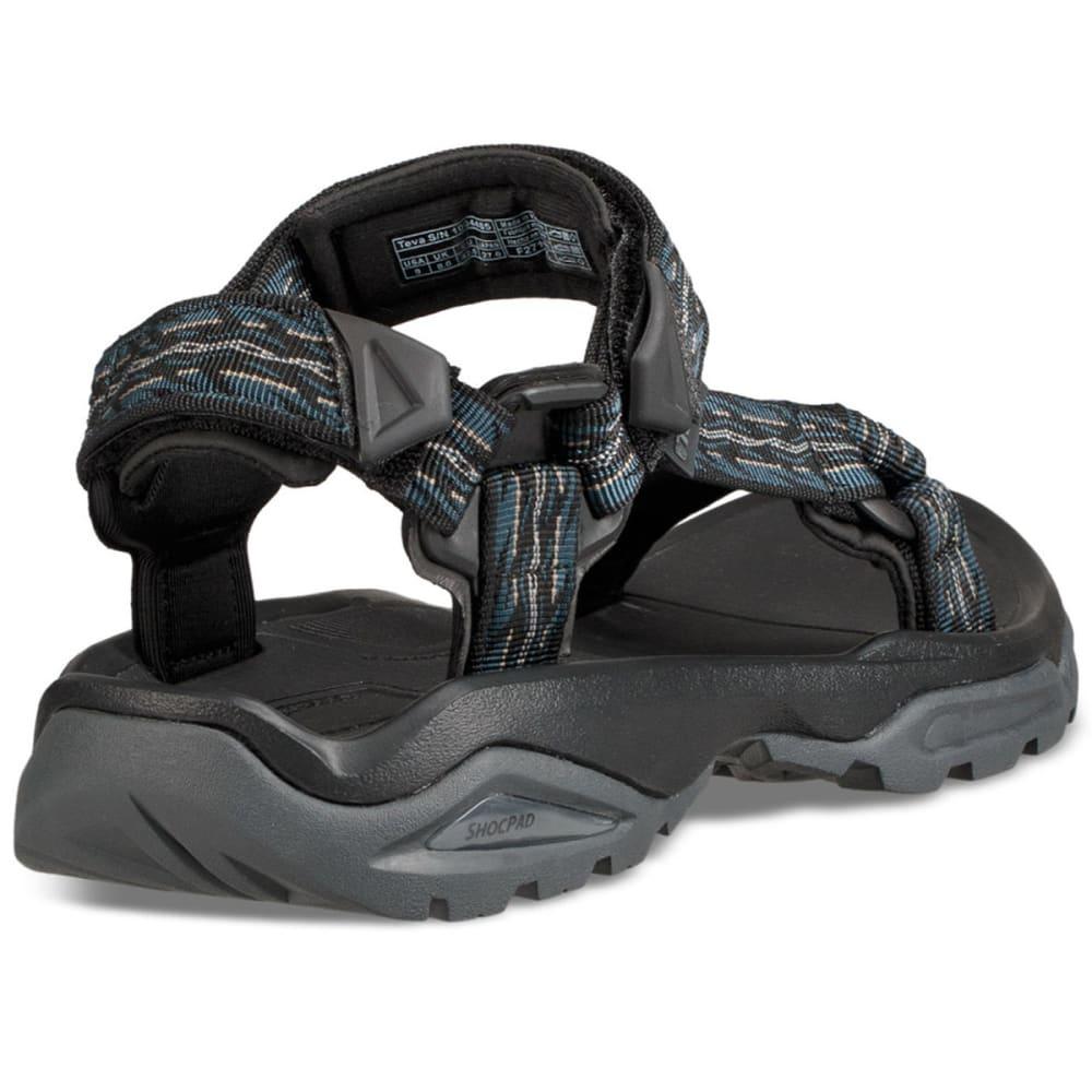 TEVA Men's Terra Fi 4 Sandals - FIRETREAD MIDNIGHT