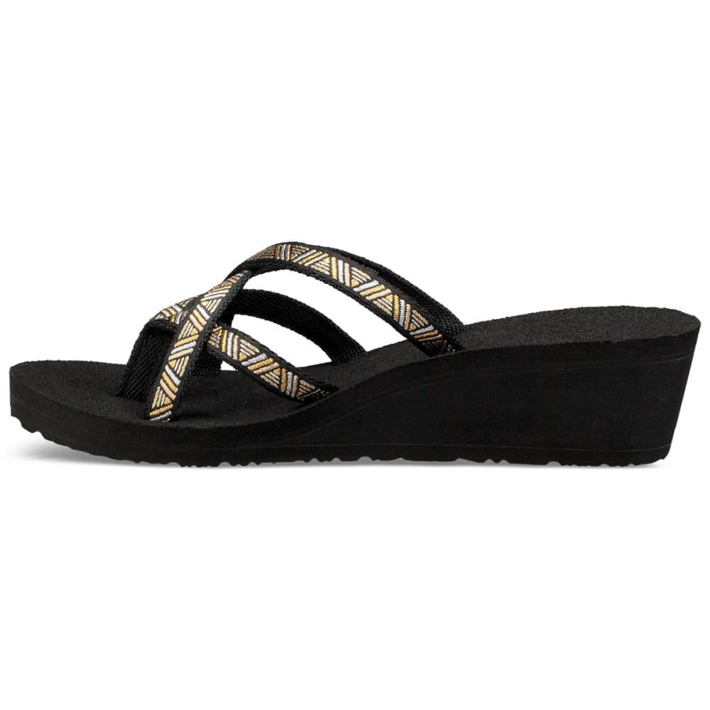 TEVA Women's Mandalyn Wedge Ola 2 Sandals - BLACK