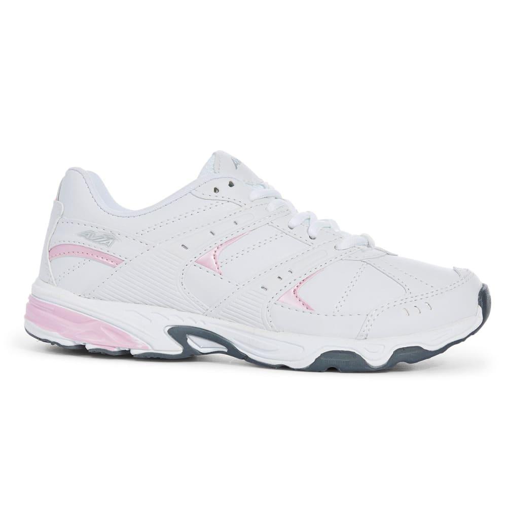 AVIA Women's A6012M SMU Cross-Training Shoes, White, Wide - WHITE