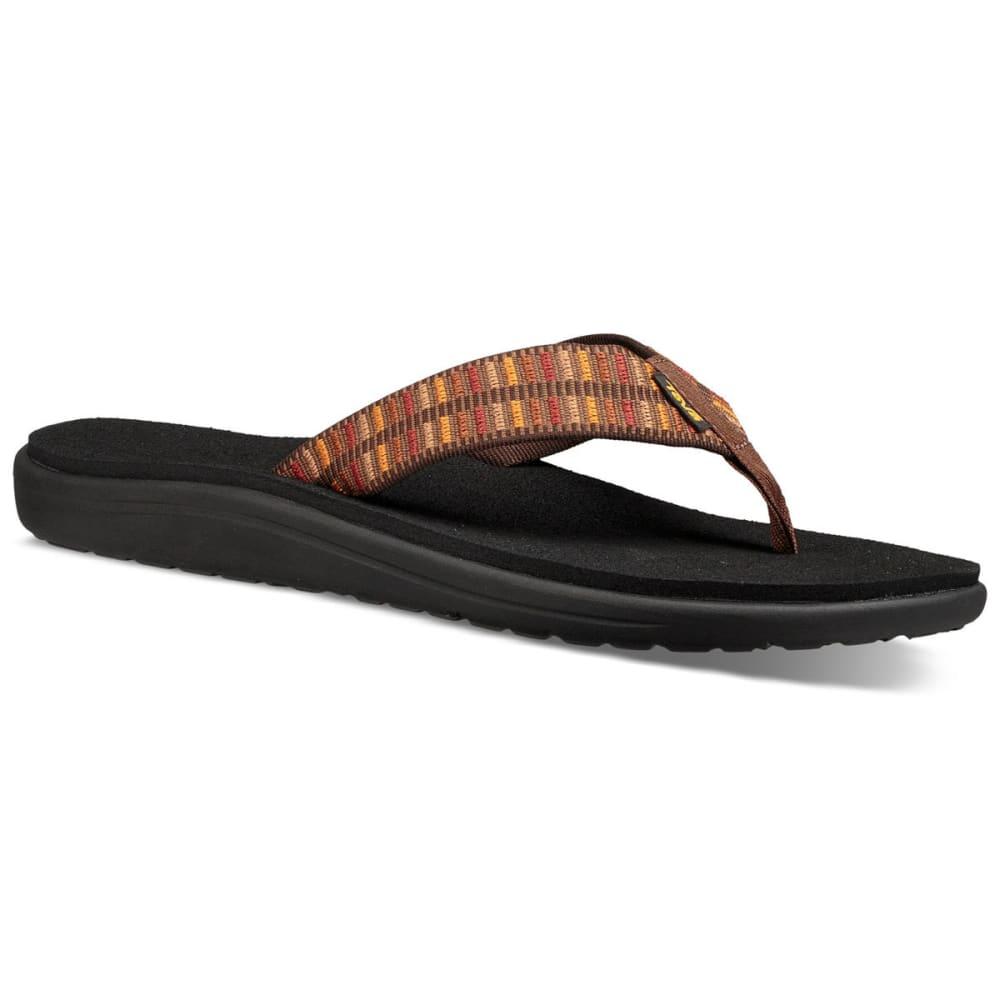 TEVA Men's Voya Flip Sandals - CARAMEL