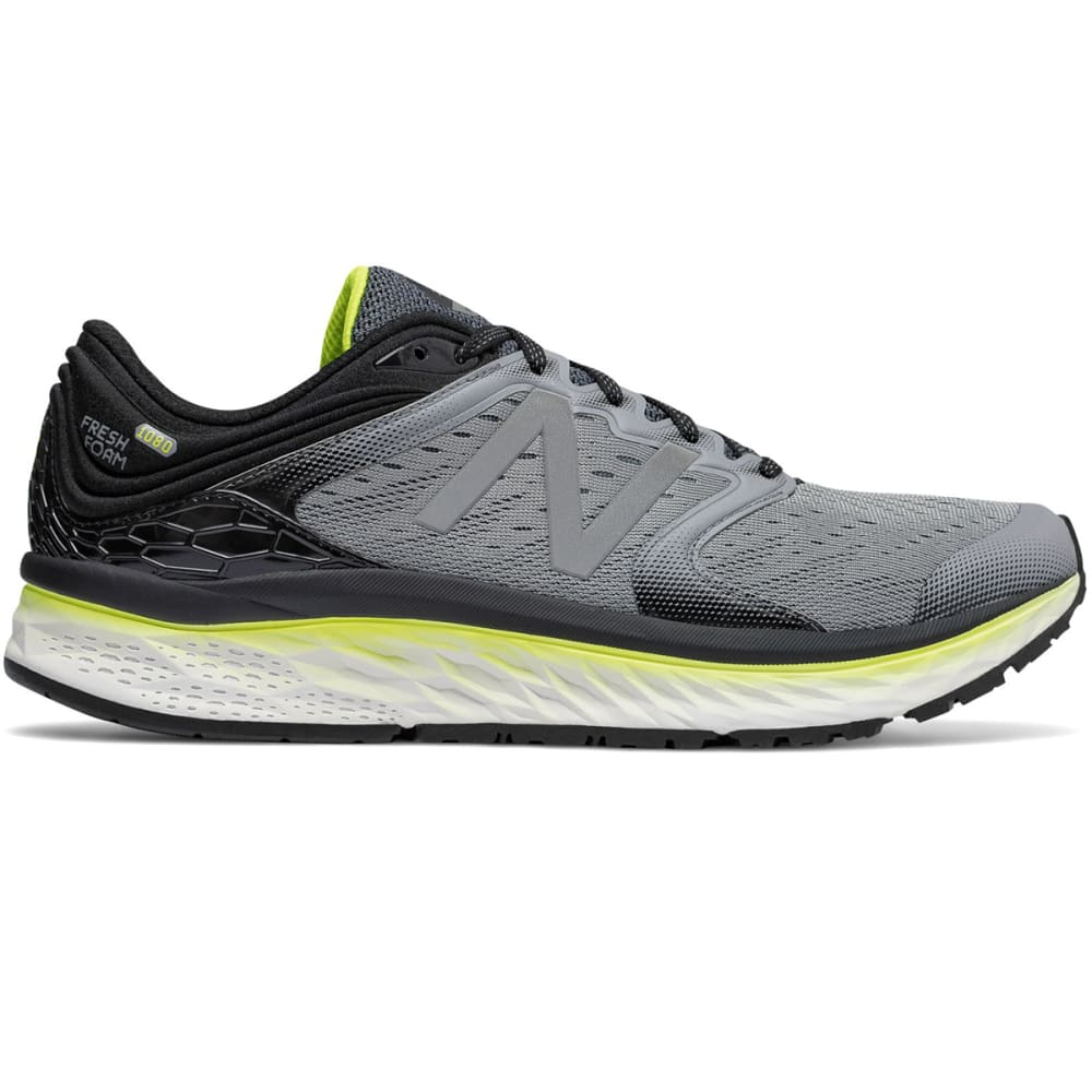 NEW BALANCE Men's Fresh Foam 1080v8 Running Shoes - STEEL