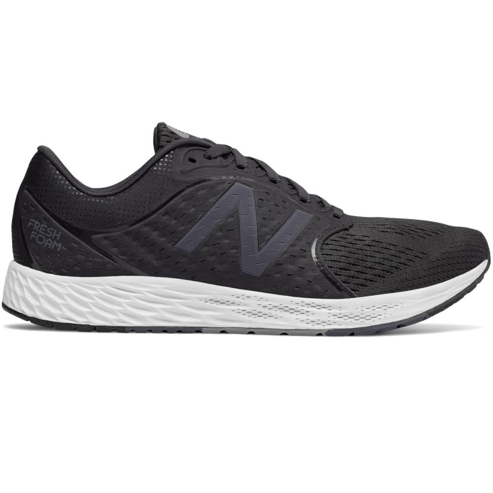 New Balance Men's Fresh Foam Zante V4 Running Shoes - Black, 8