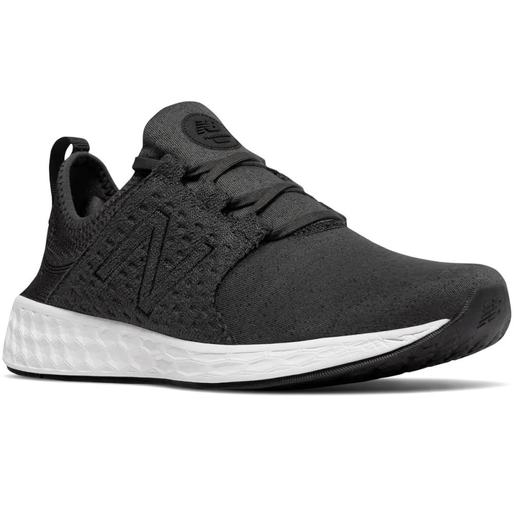 NEW BALANCE Men's Fresh Foam Cruz Retro Hoodie Running Shoes - BLACK-MCRUZHB