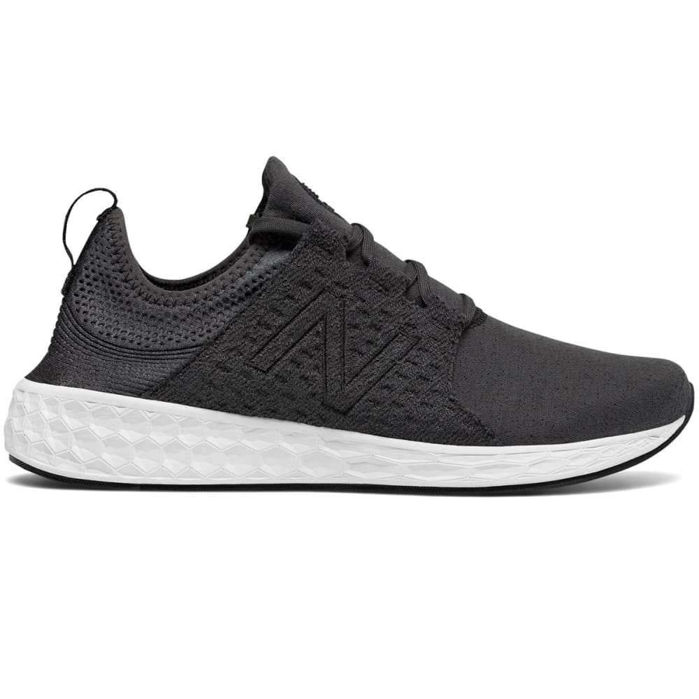 NEW BALANCE Men's Fresh Foam Cruz Retro Hoodie Running Shoes - BLACK-MCRUZHB