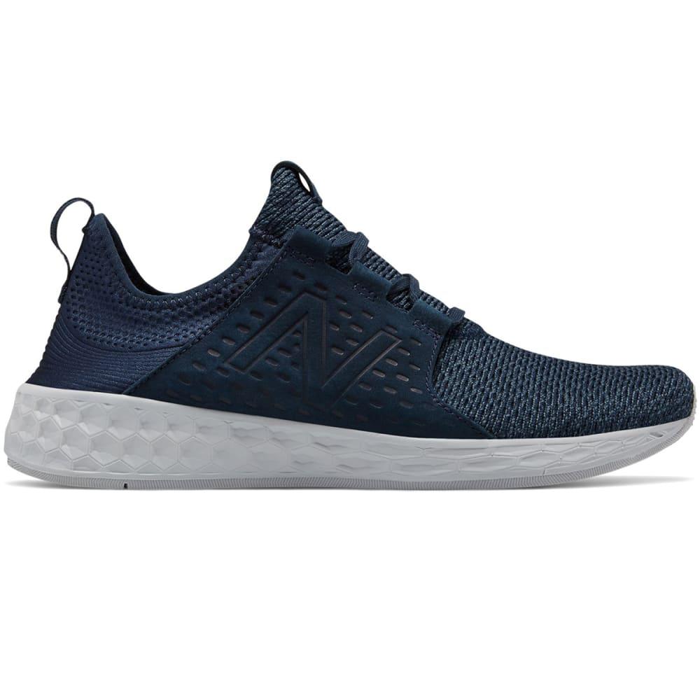 New Balance Men's Fresh Foam Cruz Retro Hoodie Running Shoes - Blue, 8.5