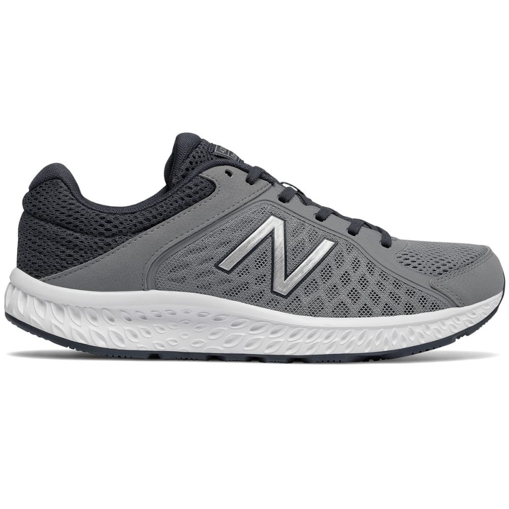 NEW BALANCE Men's 420v4 Running Shoes, Wide - GUNMETAL