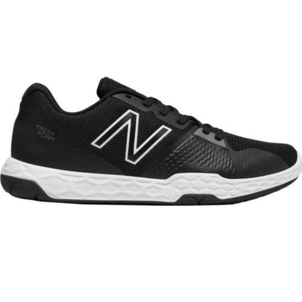New Balance Men's 713V3 Cross-Training Shoes - Black, 8