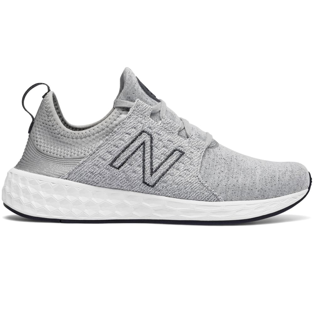 NEW BALANCE Women's Fresh Foam Cruz Retro Hoodie Running Shoes - SILVER MINK-WCRUZHG