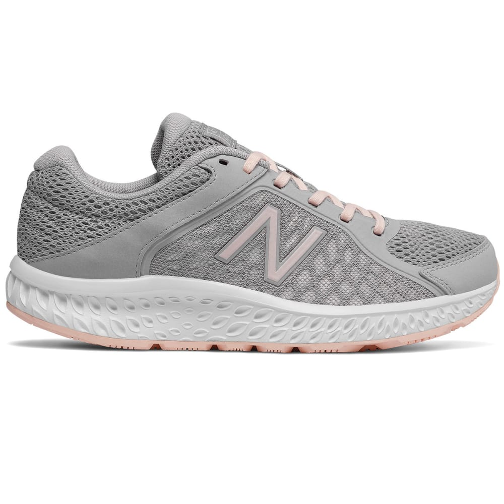 NEW BALANCE Women's 420v4 Running Shoes, Wide - SILVER